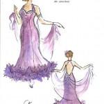 taneczna fiolet projekt