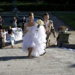 ślub Darii wejscie